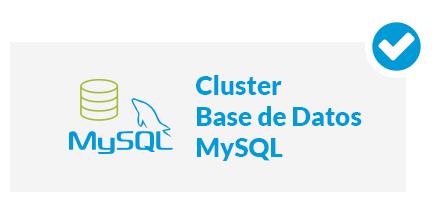 Cluster MySQL